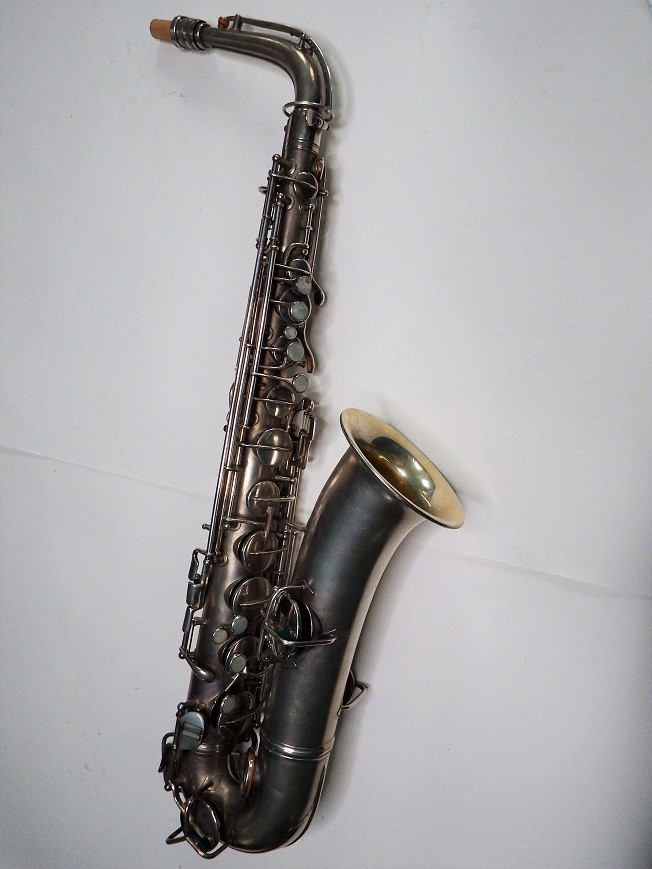 Conn Silver Plated C Melody Saxophone #103781 - Vintage Sax